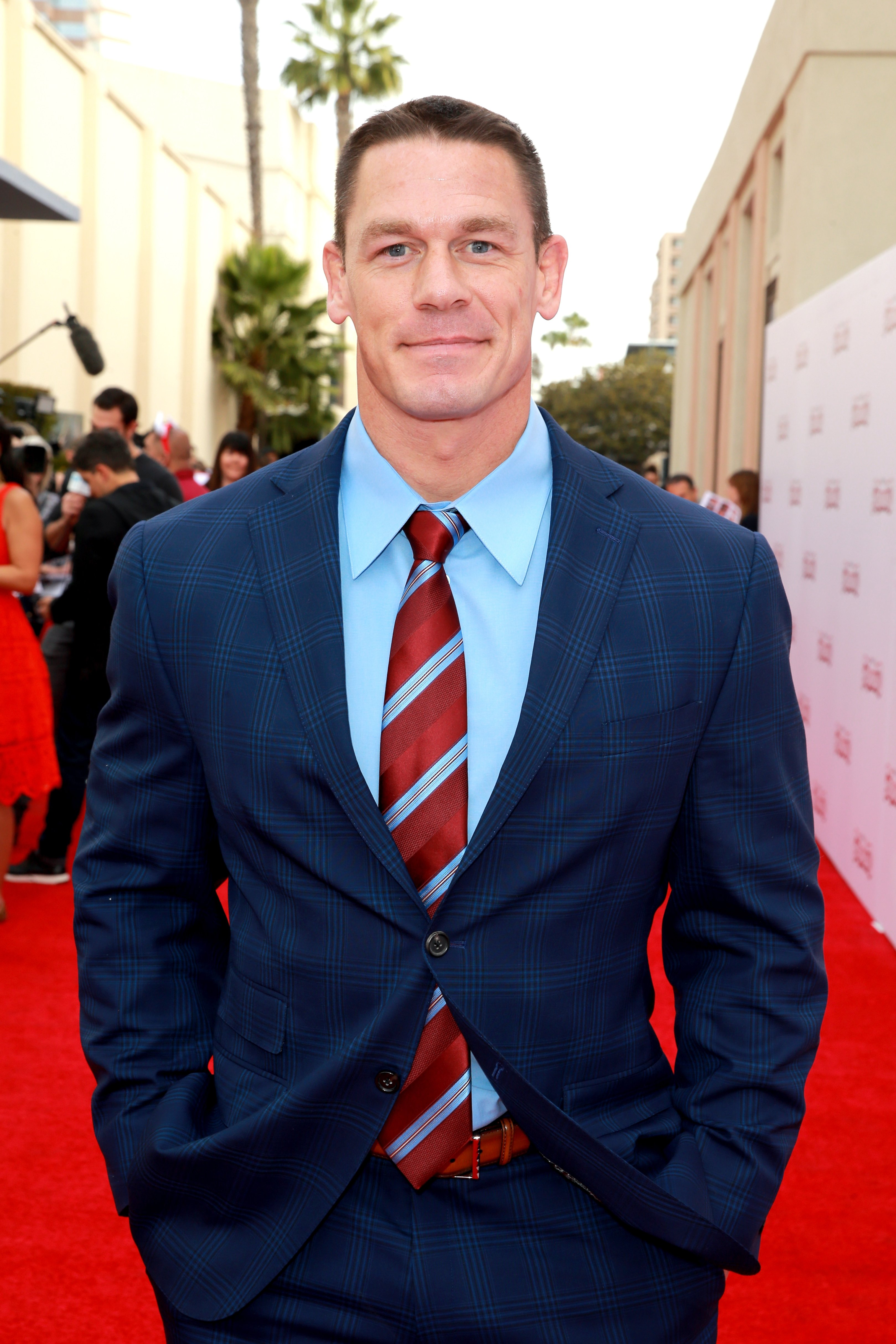 "John Cena attends the screening of 20th Century Fox's ""Ferdinand"" at Zanuck Theater at 20th Century Fox Lot on December 10, 2017, in Los Angeles, California. 