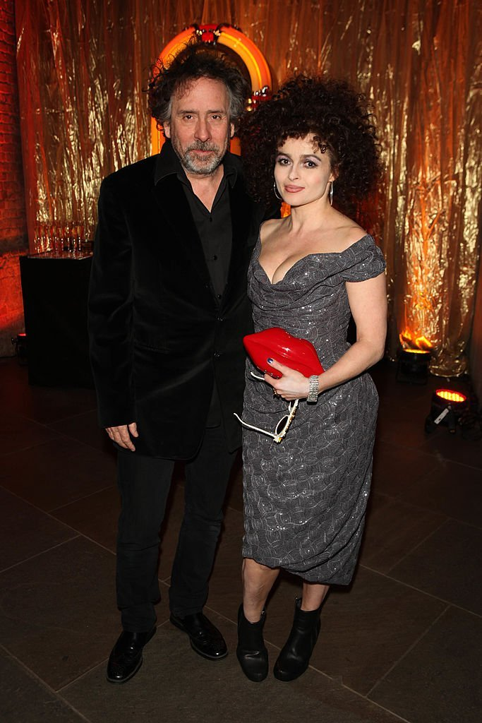 Tim Burton and actress Helena Bonham Carter attend 'A Night Of Funk & Soul 2013' for Save The Children UK at The Roundhouse  | Getty Images