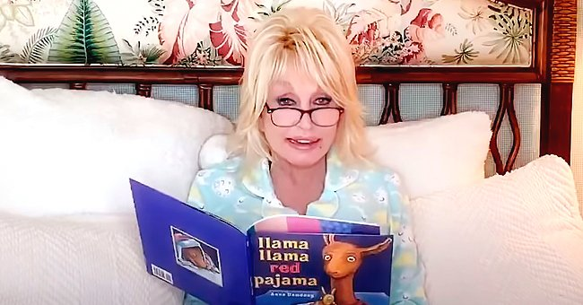 Dolly Parton Reads Bedtime Story for Children in a Video
