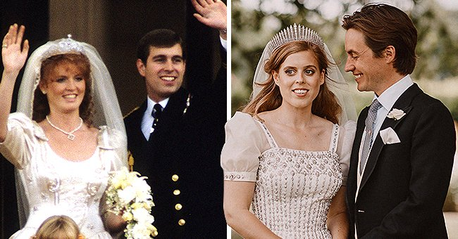 Newlywed Princess Beatrice Bears a Striking Resemblance to Mom Sarah Ferguson during Her 1986 Wedding