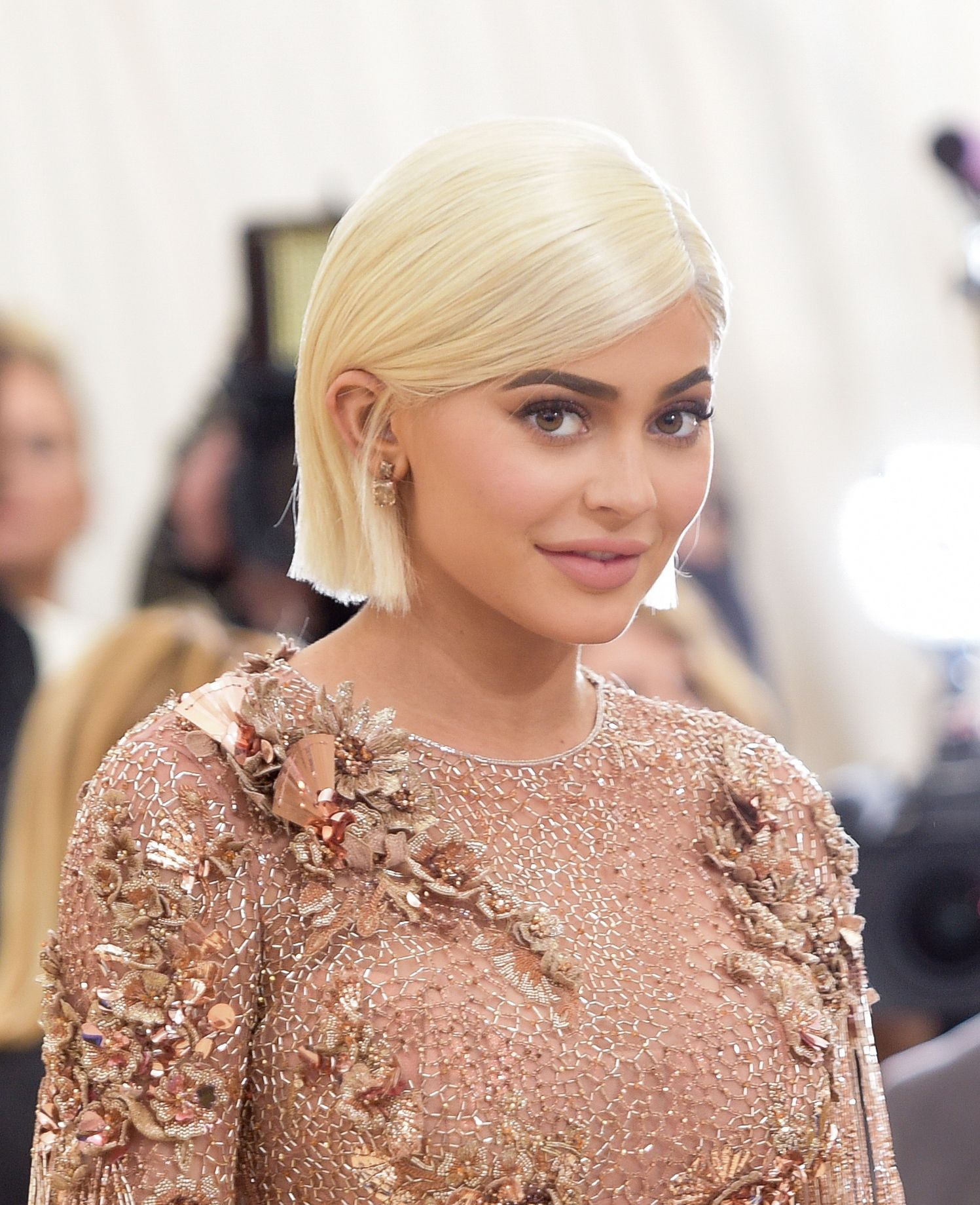 """Kylie Jenner at the """"Rei Kawakubo/Comme des Garcons: Art Of The In-Between"""" Costume Institute Gala at Metropolitan Museum of Art on May 1, 2017 