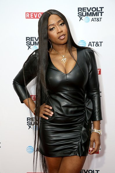 Remy Ma at the REVOLT X AT&T Host REVOLT Summit In Los Angeles in Los Angeles, California.| Photo: Getty Images.