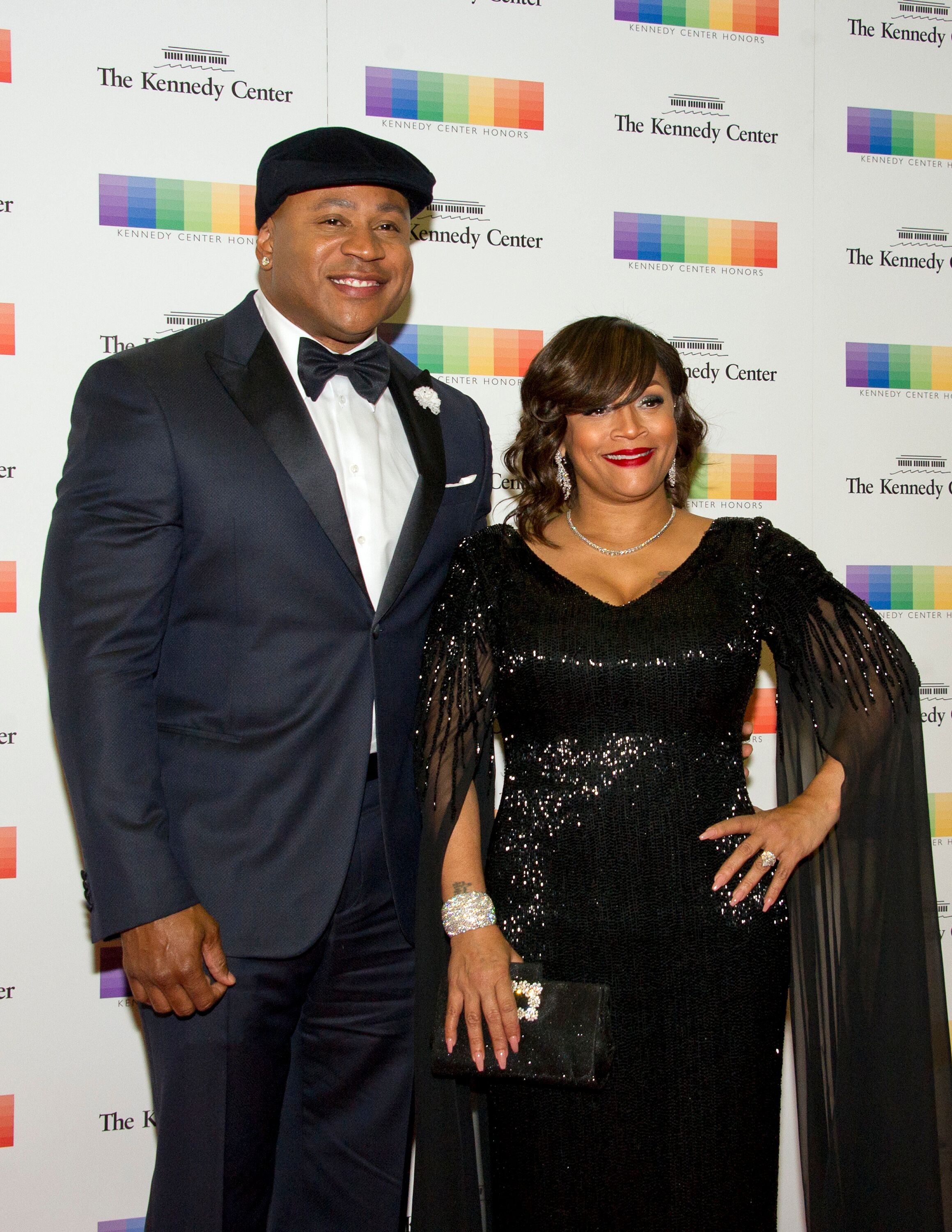 LL Cool J and Simone Smith at The Kennedy Center | Source: Getty Images/GlobalImagesUkraine