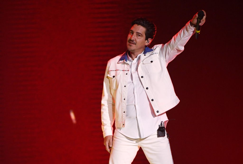 Singer Jonathan Knight of New Kids on the Block performs during a stop of the Mixtape Tour at the Mandalay Bay Events Center on May 25, 2019 | Photo: Getty Images