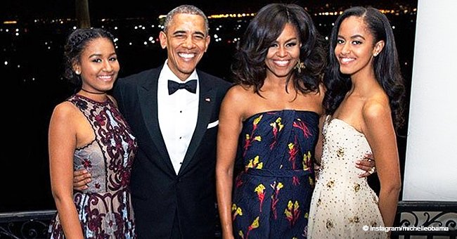 Michelle Obama gets candid of how Malia & Sasha Handled Themselves through Unusual Childhood