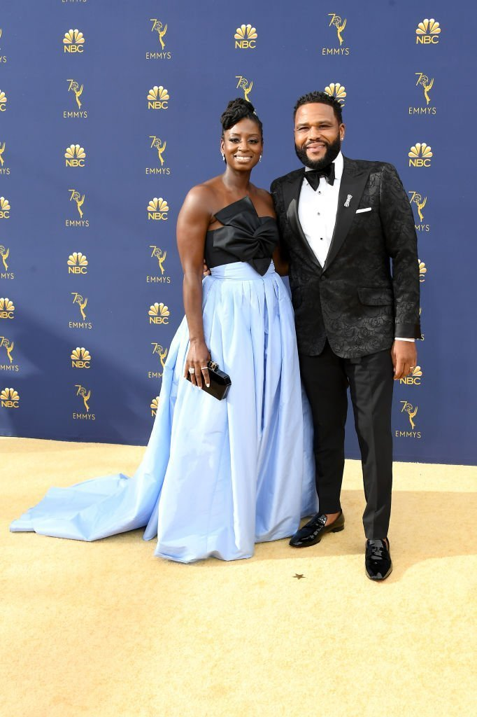 Alvina Stewart (L) and Anthony Anderson attend the 70th Emmy Awards at Microsoft Theater | Getty Images