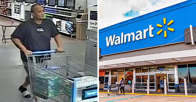 A shopper stole diapers and baby wipes from Walmart after his card was declined several times. | Photo: facebook.com/WinterHavenPoliceDepartment | Shutterstock