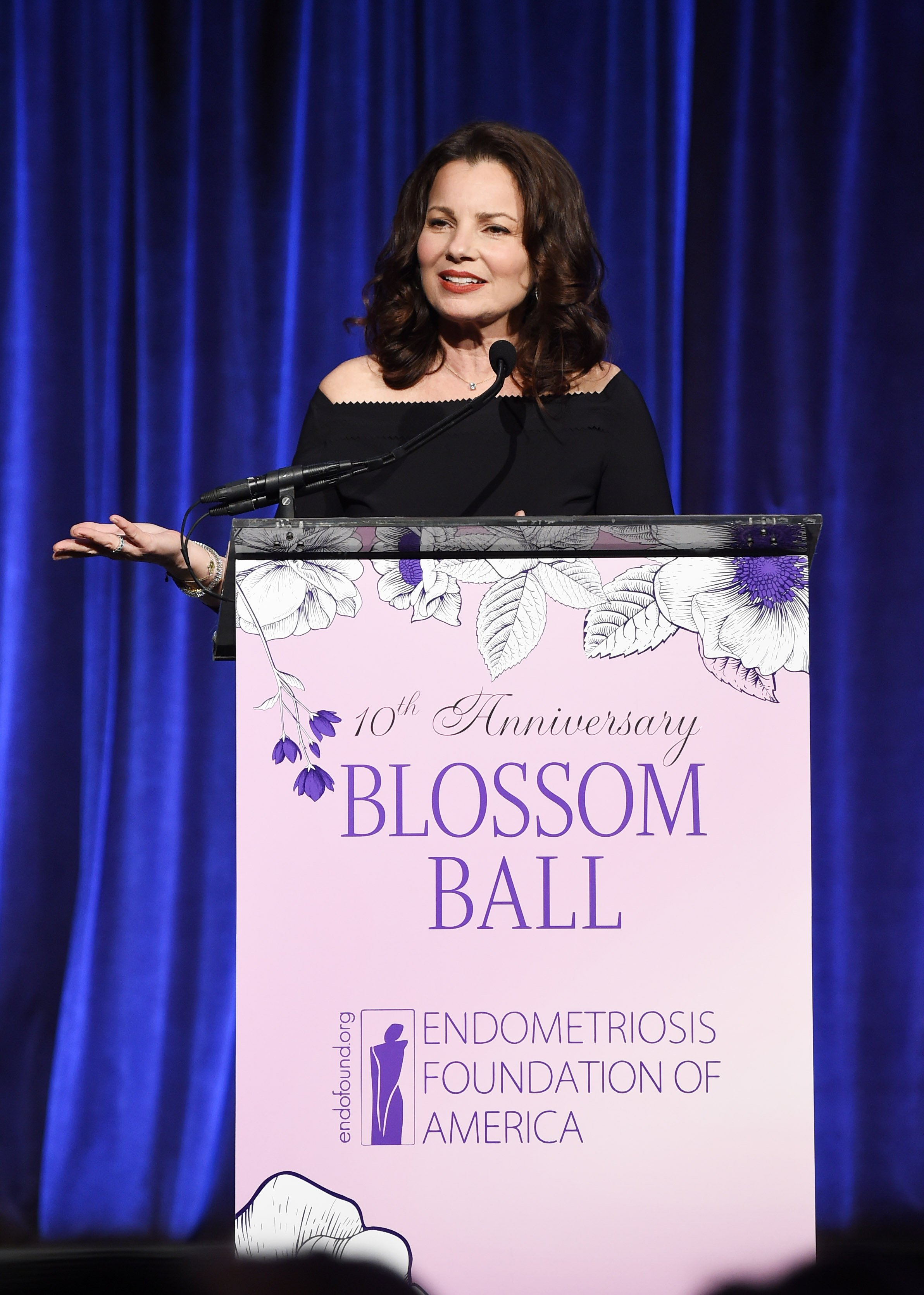 Fran Drescher at the Endometriosis Foundation Of America's 10th Annual Blossom Ball on May 08, 2019 | Photo: GettyImages