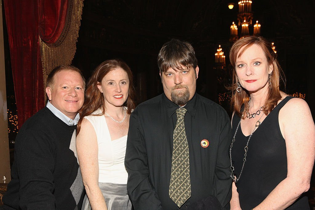 """Eric Scott, Kami Cotler, David Harper, and Mary McDonough attends the 40th Anniversary reunion of """"The Waltons"""" in 2011 