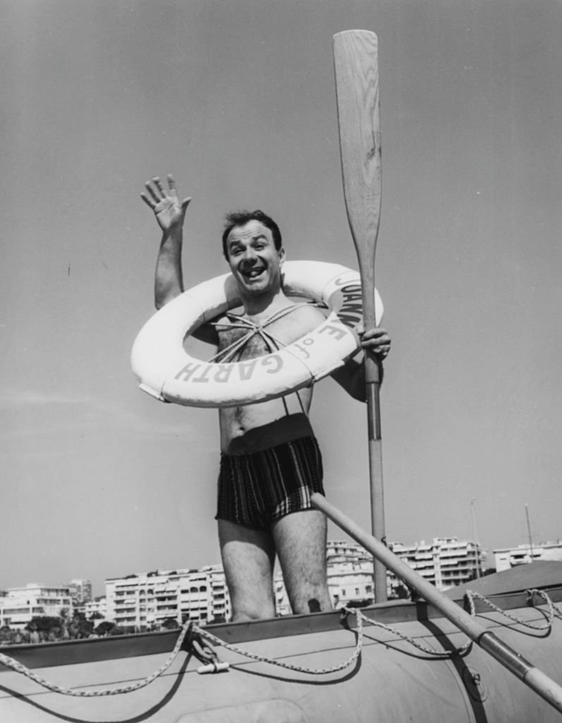 Fernand Raynaud et son sourire inoubliable. l Source : Getty Images