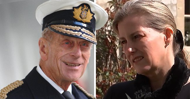Prince Philip's Daughter-in-Law Sophie Speaks Candidly about the Duke's Final Moments