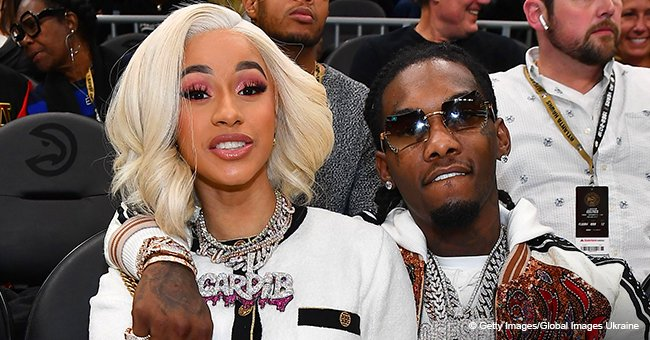 Cardi B Melts Hearts with Throwback Family Pic of Offset & Daughter Kulture Bonding during Vacation