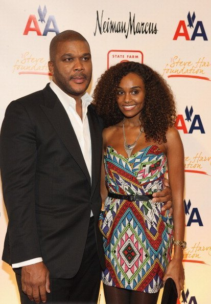Tyler Perry and model Gelila Bekele attend the 2nd annual Steve Harvey Foundation gala at Cipriani Wall Street on April 4, 2011 in New York City | Photo: Getty Images