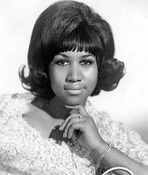 Aretha Franklin pictured here in 1968   Photo: Wikipedia