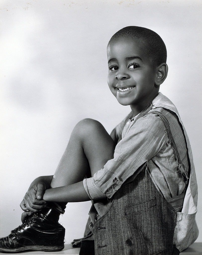 Matthew Beard as Stymie in the Our Gang series, later to be know as The Little Rascals. Image dated January 1, 1932. | Photo: Getty Images