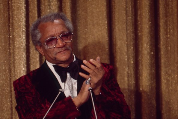 "Redd Foxx appearing on ""Wide World of Entertainment: Salute to Redd Foxx"" in 1974. 