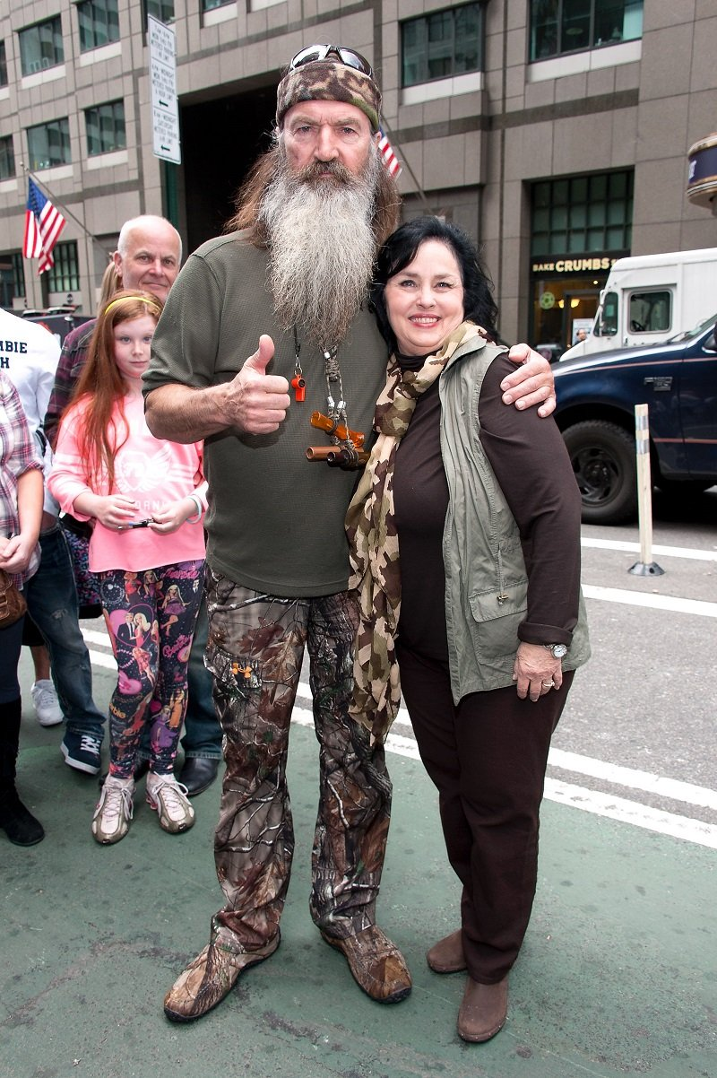 Phil Robertson and Kay Robertson on May 7, 2013 in New York City | Photo: Getty Images