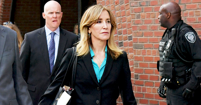 Felicity Huffman Spotted at Daughter's Graduation in Hollywood Weeks after Her Guilty Plea
