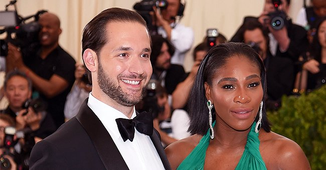 Fans like the Way Serena Williams' Husband Alexis Looks at Her in New Romantic Photo of Couple