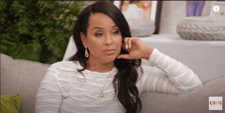 """LizaRaye McCoy on a recent episode of """"Iyanla Fix My Life"""" in December 2020. 