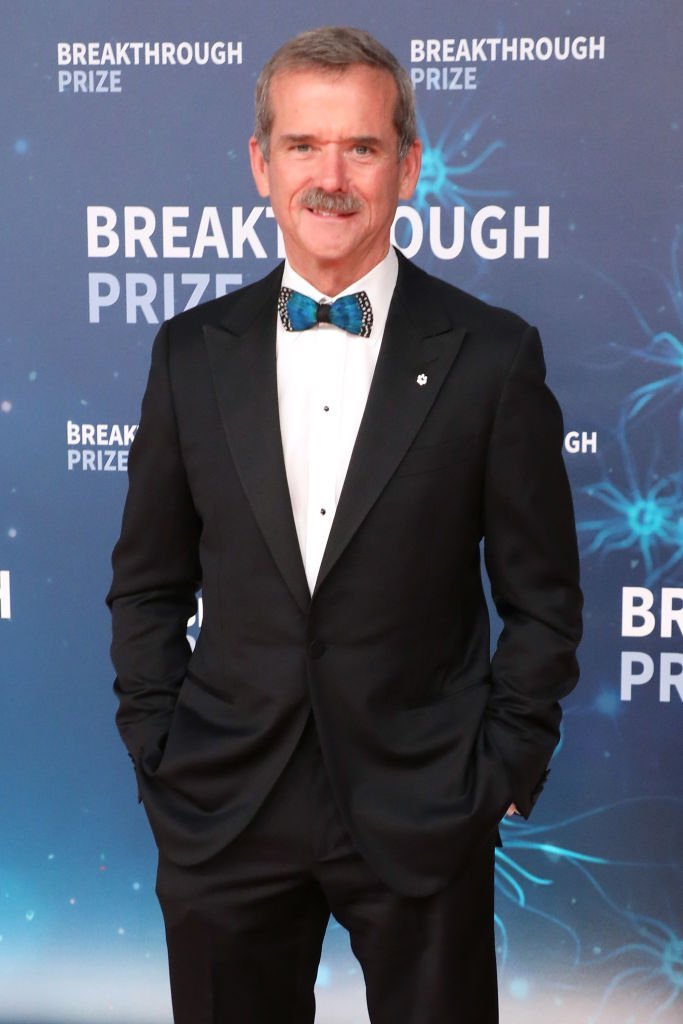 Chris Hadfield attends the 2020 Breakthrough Prize Ceremony at NASA Ames Research Center on November 03, 2019 | Photo: Getty Images