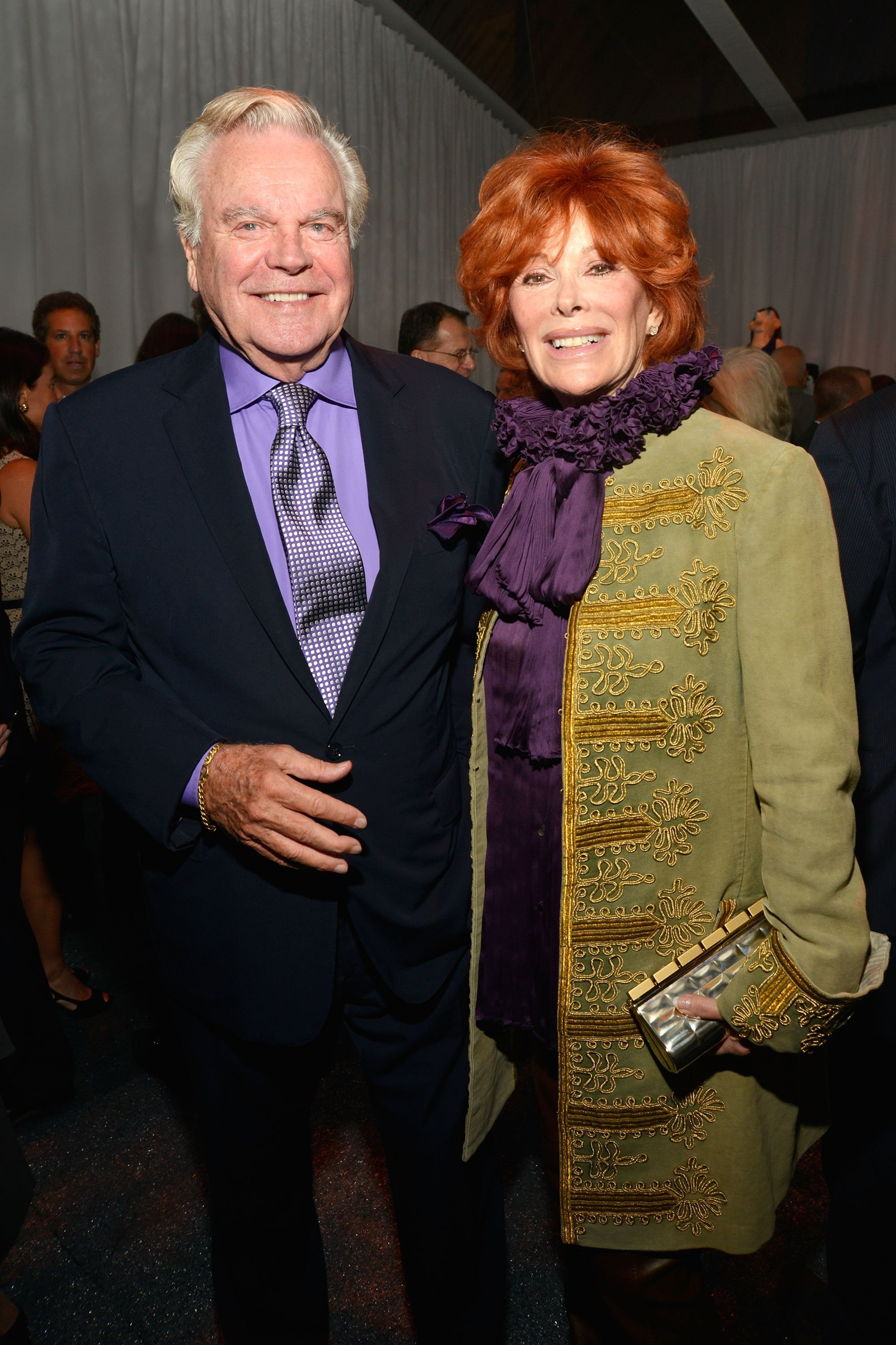 Robert Wagner and Jill St. John attend the Studio in a School's 35th Anniversary gala at Seagram Building on October 2, 2012, in New York City. | Source: Getty Images.