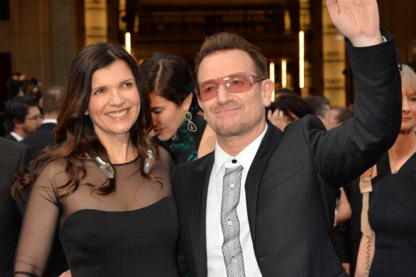 U2 Singer Bono and Ali Hewson at Hollywood & Highland Center on March 2, 2014 in Hollywood, California. | Photo: Getty Images