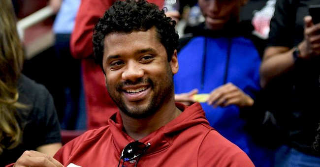 Fans Say NFL Star Russell Wilson & His Baby Win Look like Twins as He Performs Daddy Duties