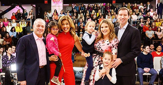 Hoda Kotb & Jenna Bush Hager from 'Today' Were Surprised by Partners & Kids during Debut of 1st Live Show
