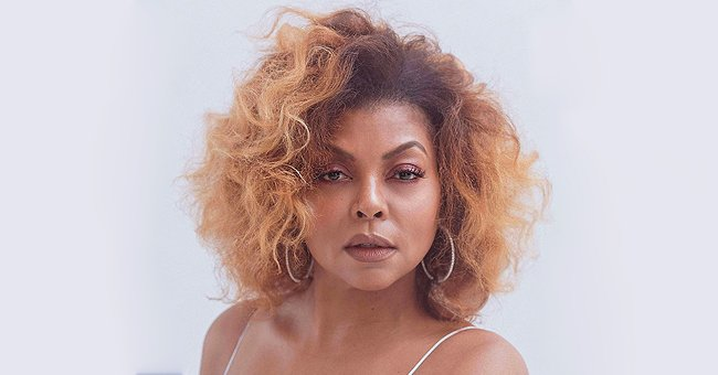 Taraji P Henson from 'Empire' Shows off Honey Blonde Curls in Stunning White Gown & Talks about Her Hair Care Line