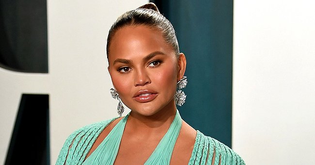 Watch Chrissy Teigen's Daughter Luna Honoring Unborn Brother Jack after Receiving His Ashes