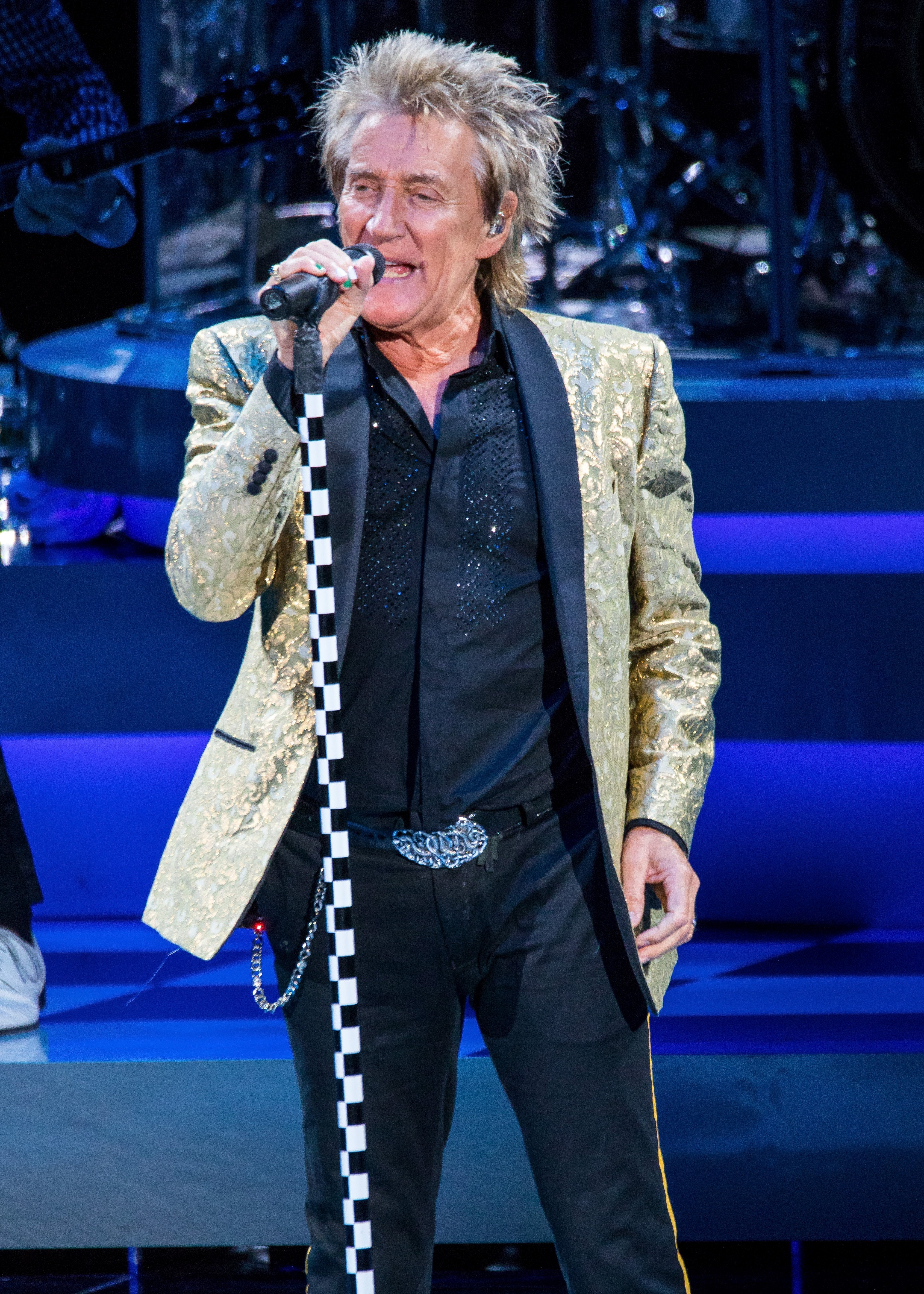 Sir Rod Stewart performs at DTE Energy Music Theater on August 1, 2017 in Clarkston, Michigan | Photo: Getty Images
