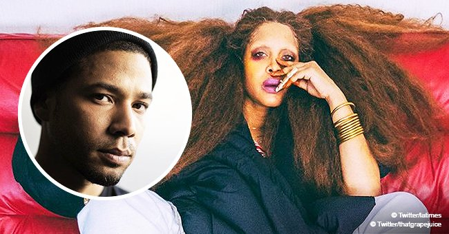 Erykah Badu forced to speak out after her disparaging tweet is assumed to be about Jussie Smollett