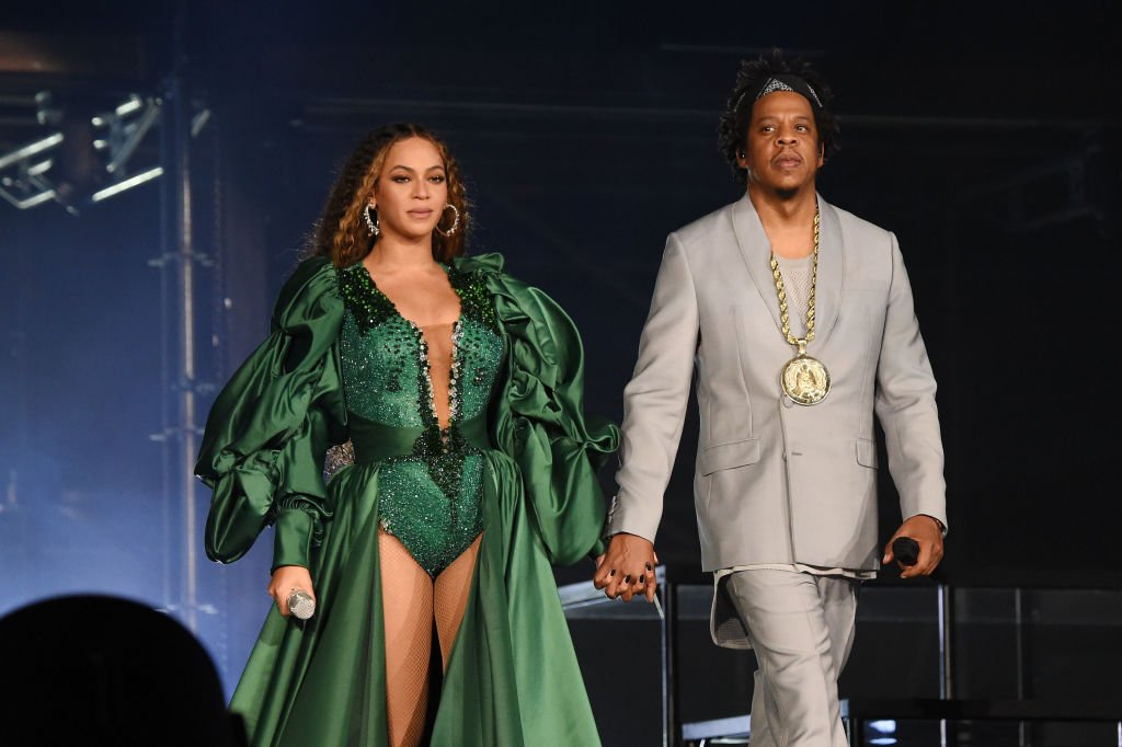 Beyonce and Jay-Z performing at the Global Citizen Festival: Mandela 100 in South Africa in December 2018. | Photo: Getty Images