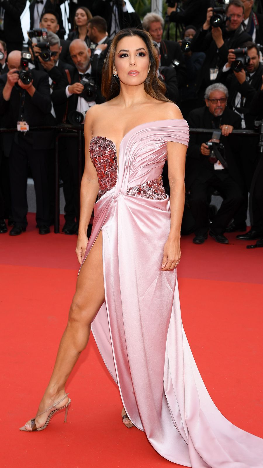 """Eva Longoria at the opening ceremony of """"The Dead Don't Die"""" during the 72nd annual Cannes Film Festival on May 14, 2019 