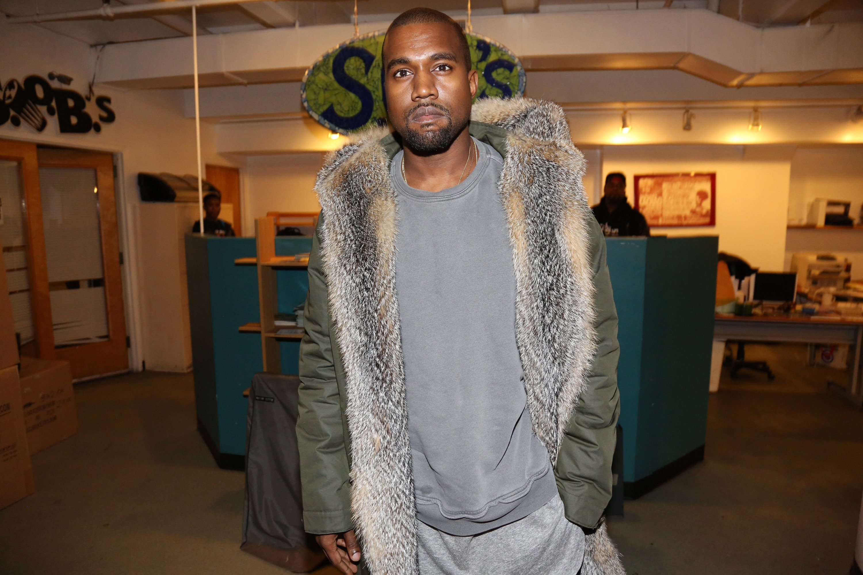 Kanye West attends SOB's on December 4, 2014, in New York City | Photo: GettyImages