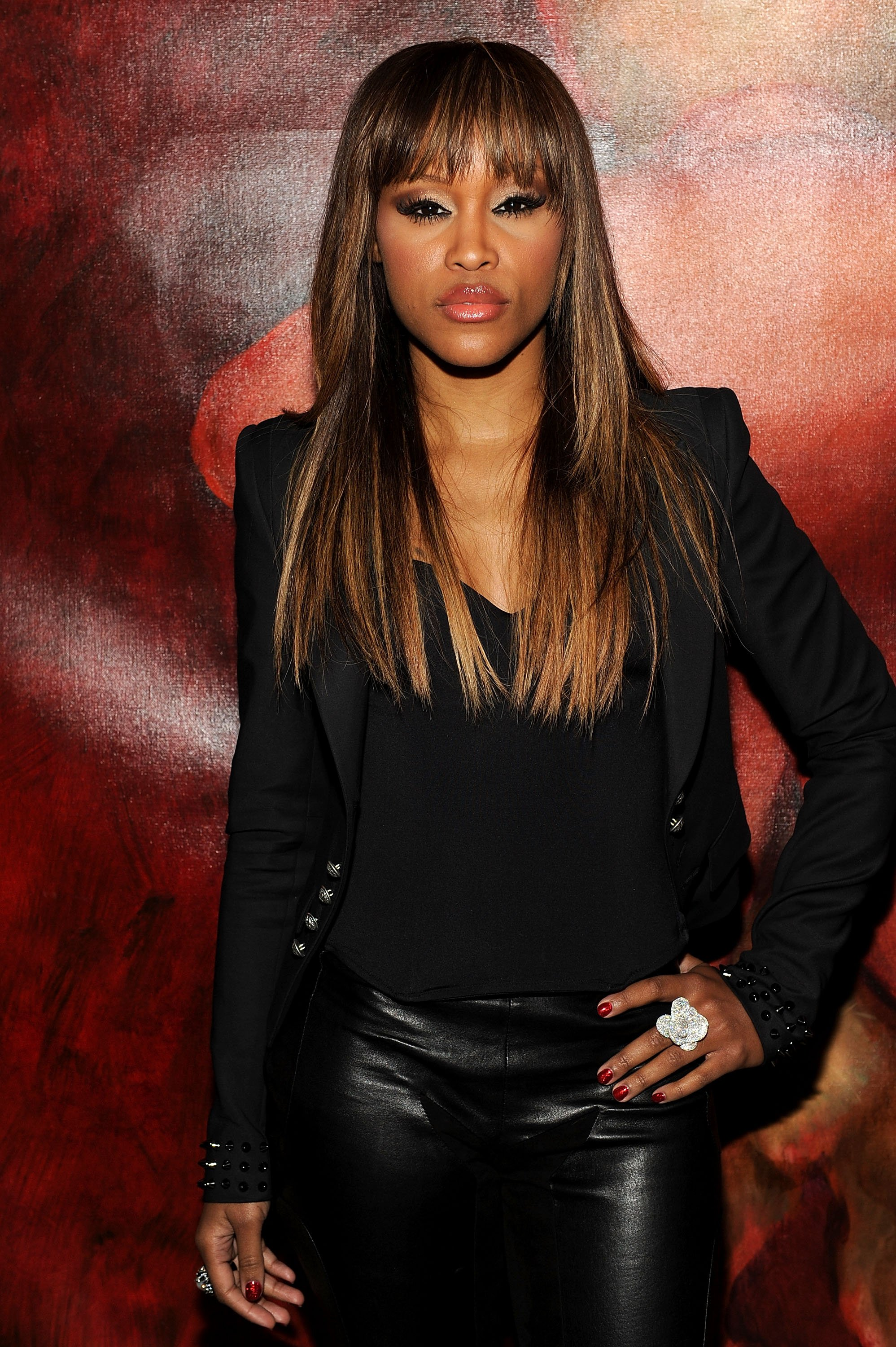 """Singer Eve attends the Scream 4 New York screening after party hosted by Curtis """"50 Cent"""" Jackson & Harvey Weinstein at the Mr. H at the Mondrian Soho on April 12, 2011 in New York City 