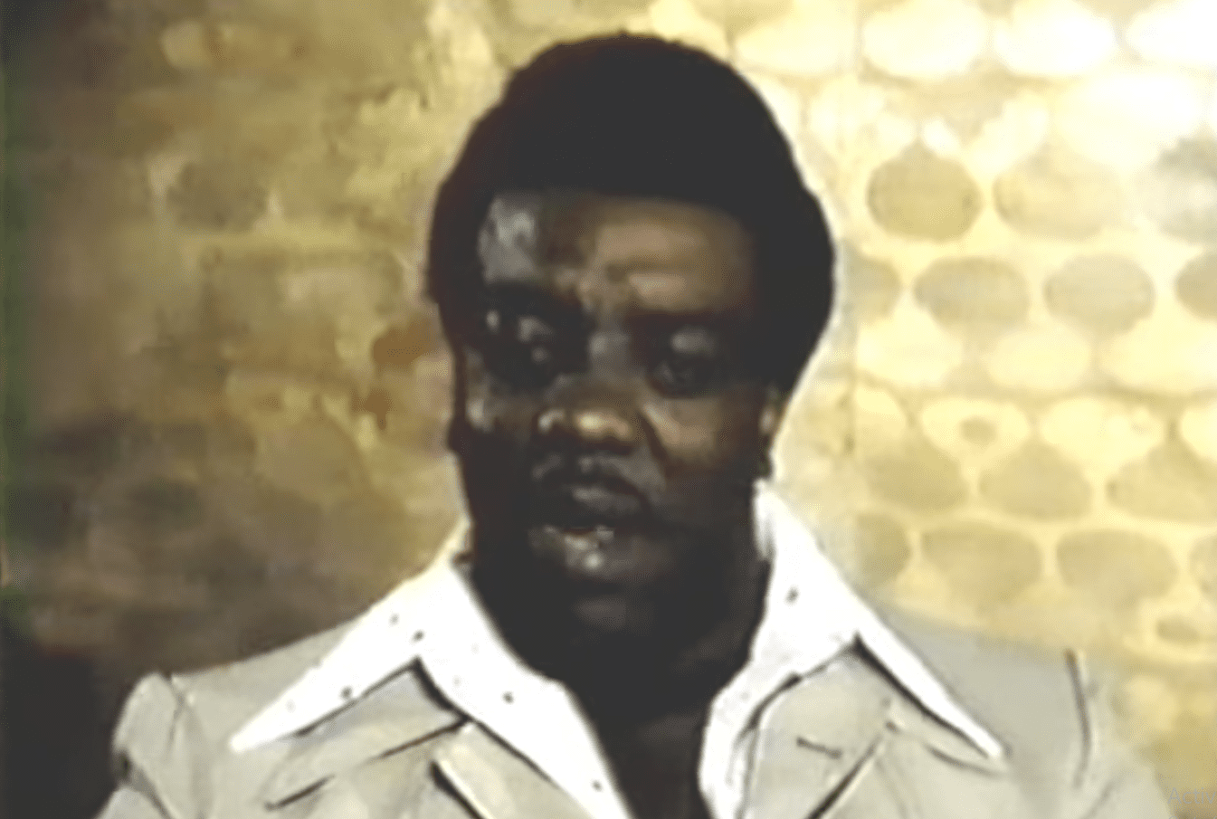 Rev. James Cleveland in an interview talking about the Gospel Music Workshop of America he founded. | Photo: YouTube/ GarrisonBullier