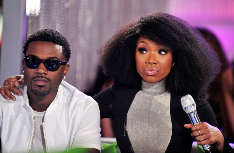 Siblings Ray-J and Brandy at an interview   Source: Getty Images/GlobalImagesUkraine