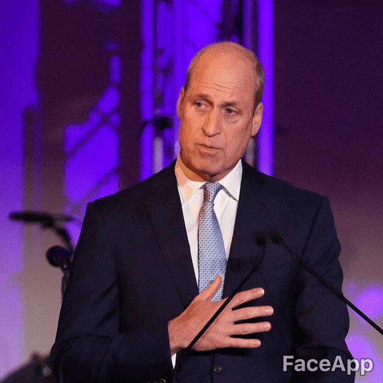 FaceApp Prince William