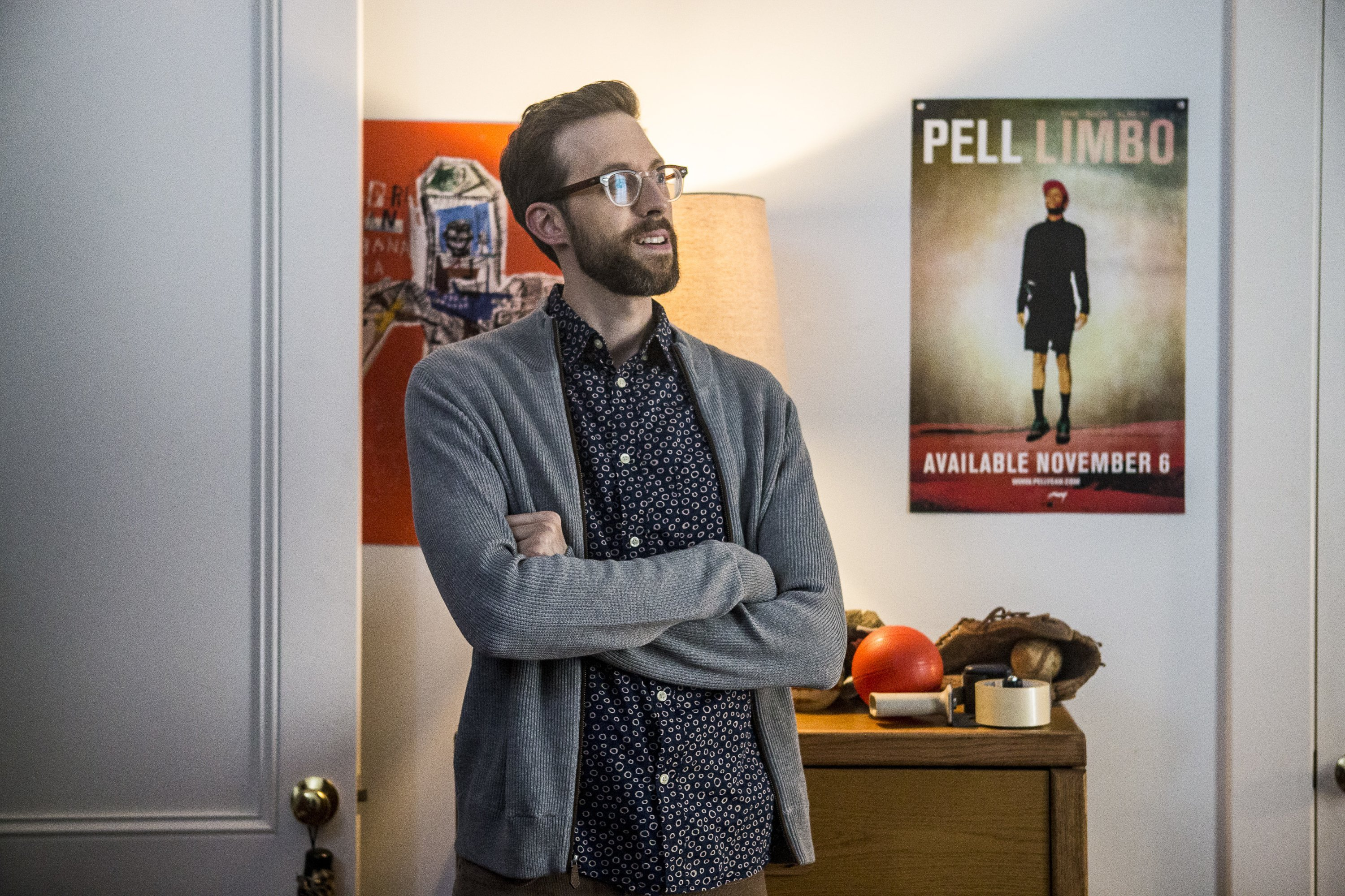 "Rob Kerkovich as Forensic Scientist Sebastian Lund on ""NCIS: New Orleans"" 