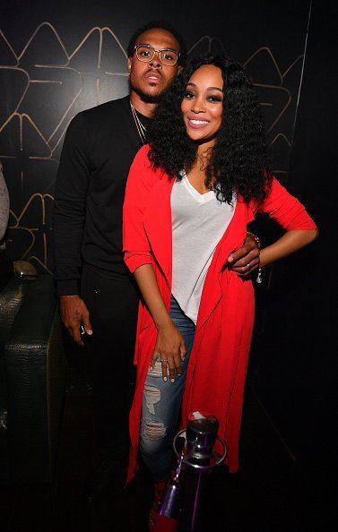 Monica Brown and Shannon Brown attend XS Lounge on May 1, 2016 in Atlanta   Photo: Getty Images