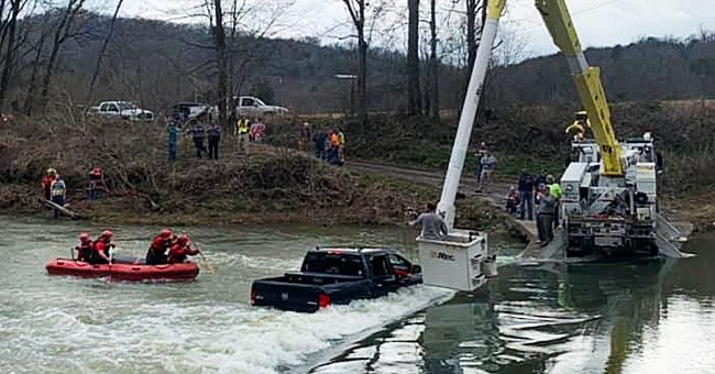 Car Carrying Five People Is Swept off a Flooded Bridge and into a Swollen Creek in Tennessee