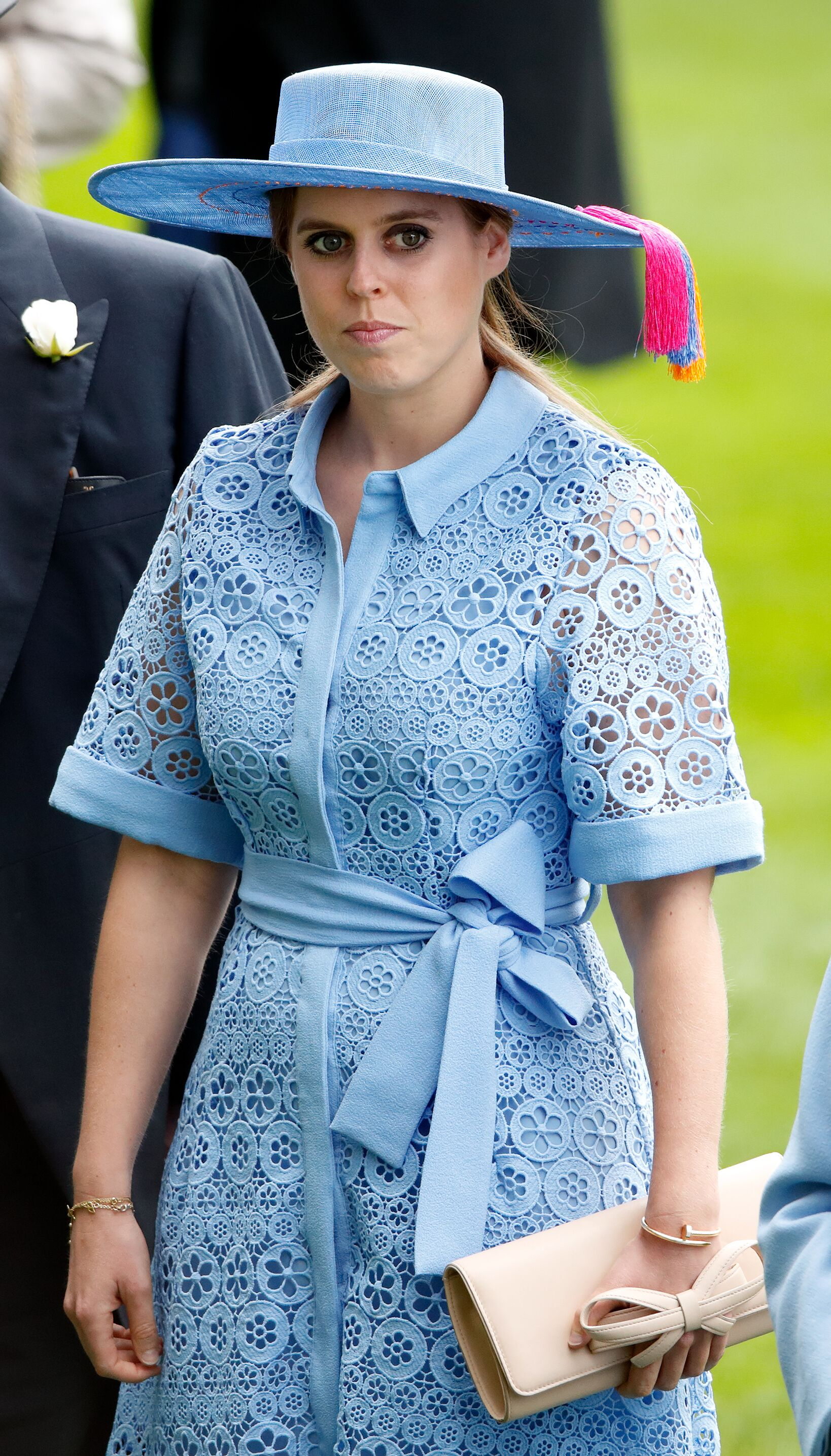 Princess Beatrice at Royal Ascot on June 18, 2019 in Ascot, England. | Source: Getty Images