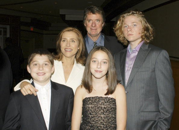 Meredith Vieira, Richard M. Cohen, Benjamin, Lily, and Gabriel at the Kodak Theater on September 16, 2005 in Hollywood, California. | Photo: Getty Images