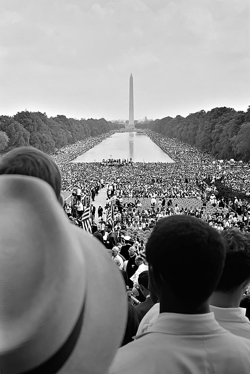 The March on Washington D.C., 1963   Source: Wikimedia Commons/ Public Domain