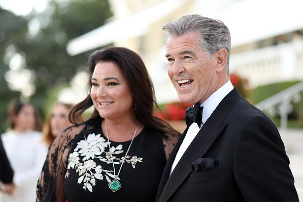 Pierce Brosnan and his wife Keely Shaye Smith at the amfAR Gala Cannes 2018 on May 17, 2018 | Photo: Getty Images