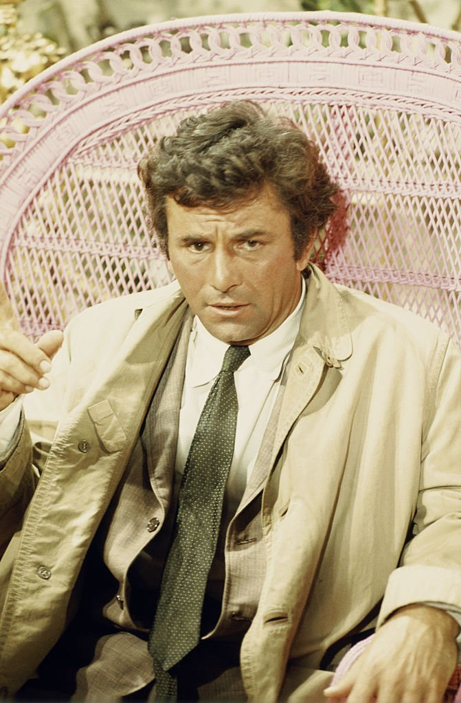 Peter Falk comme lieutenant Columbo dans COLUMBO sainson 2. | Photo : Getty Images