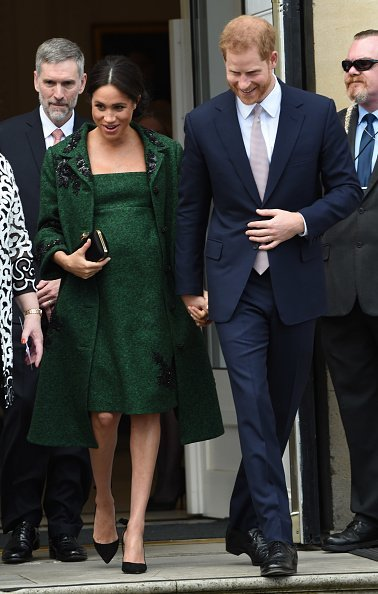 Meghan Markle and Prince Harry attend a Commonwealth Day Youth Event at Canada House on March 11, 2019, in London, England.| Source: Getty Images.