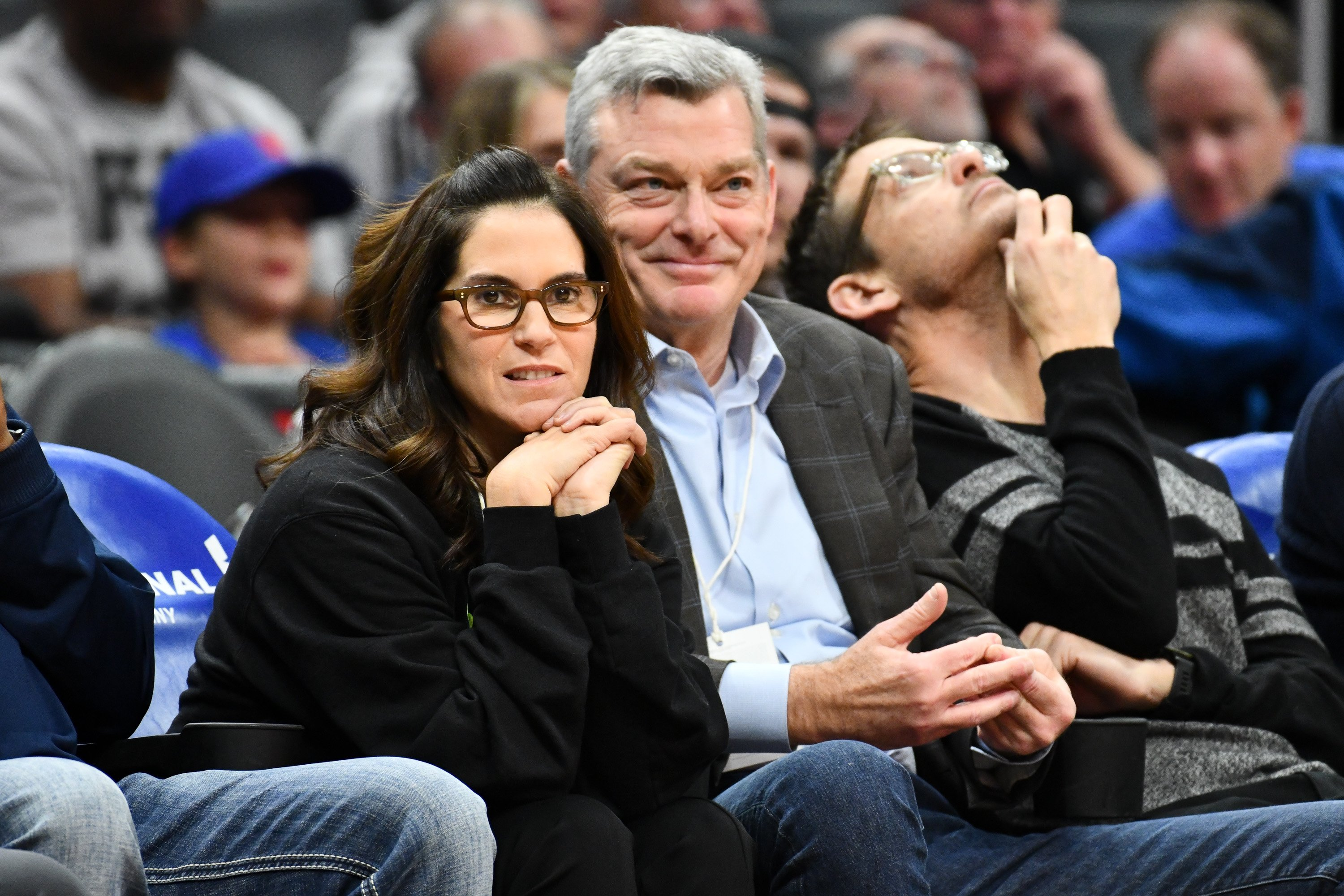 ami Gertz and Antony Ressler attend a basketball game between the Los Angeles Clippers and the Atlanta Hawks at Staples Center on January 28, 2019. | Source: Getty Images